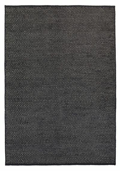 "HERRINGBONE I CHARCOAL LIMESTONE I 6'7"" x 9'10"" *more sizes available"