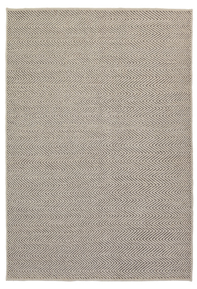"HERRINGBONE I LIMESTONE CHARCOAL I 6'7"" x 9'10"" *more sizes available"