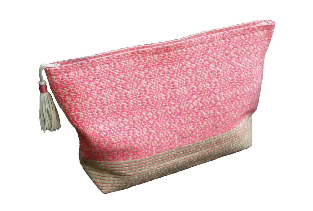 LARGE PINK POUCH