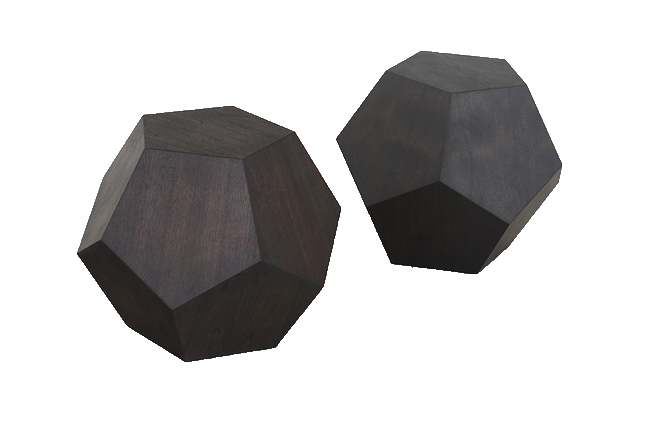 THE DODECAHEDRON SIDE TABLE