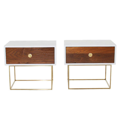 THE BRASS DEANE NIGHT STAND