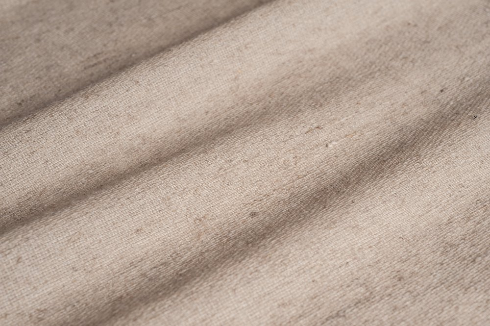 TEXTURED WOOL I HESSIAN