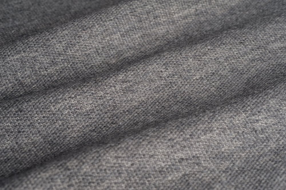 TEXTURED WOOL I CHARCOAL