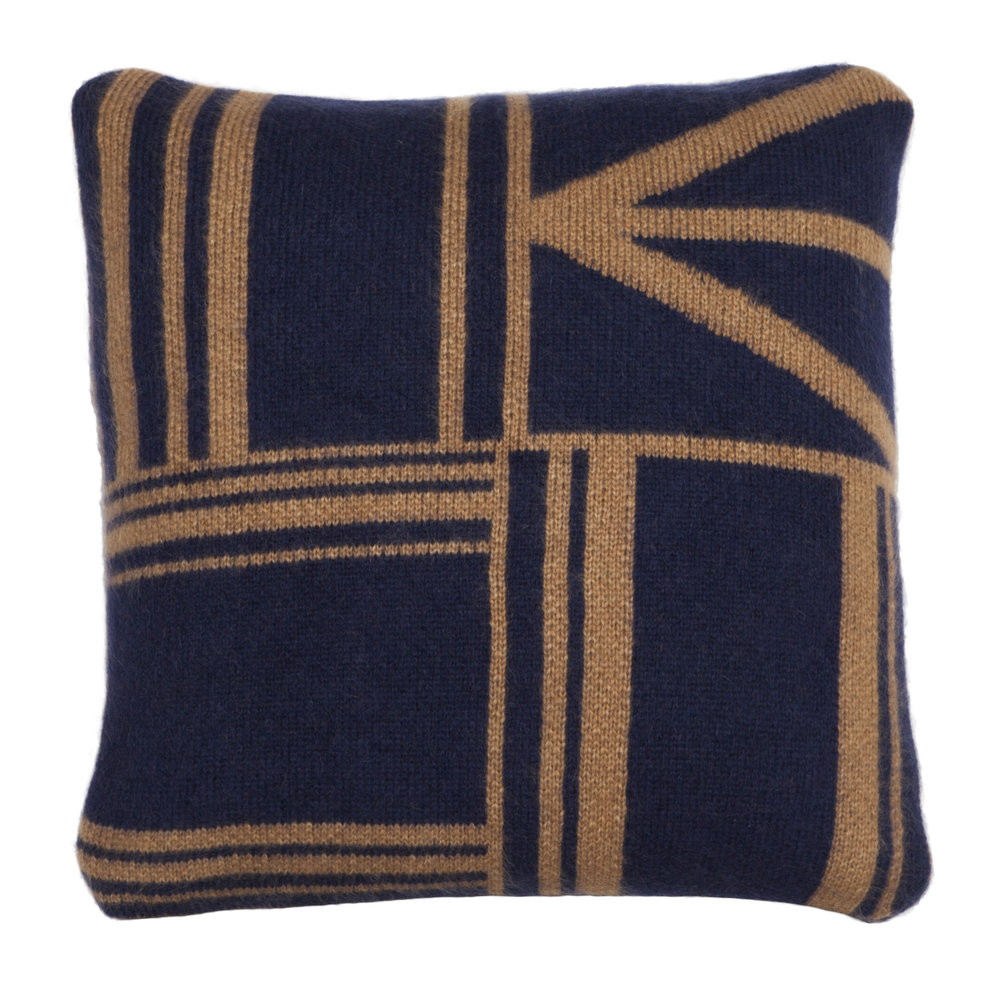 OWAMI CUSHION I NAVY