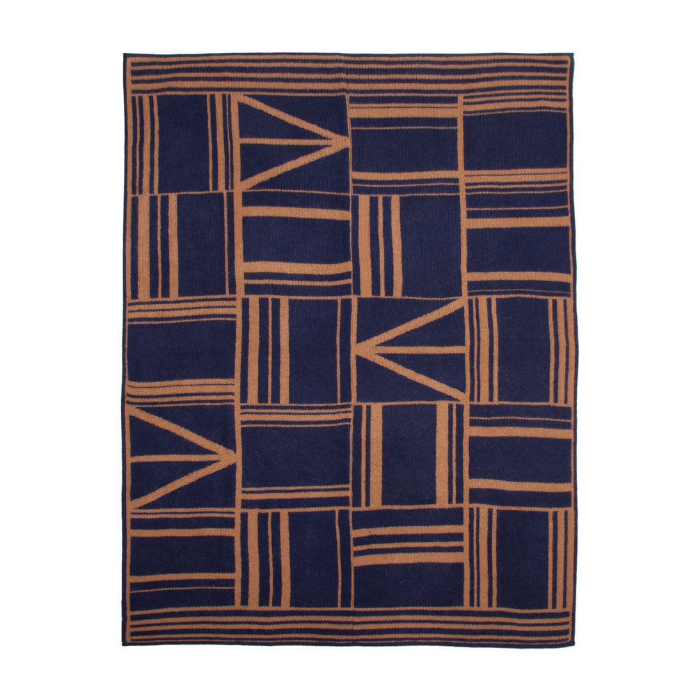 OWAMI THROW I NAVY