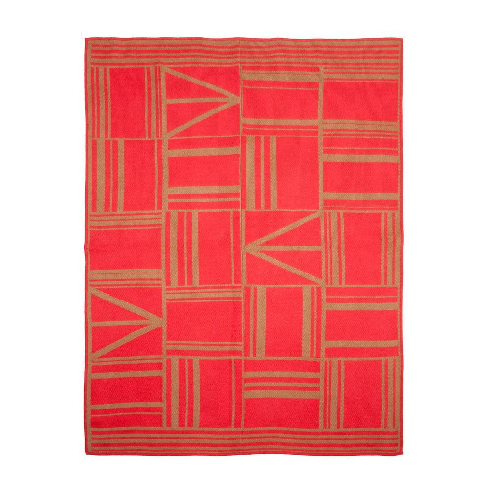 OWAMI THROW I CORAL
