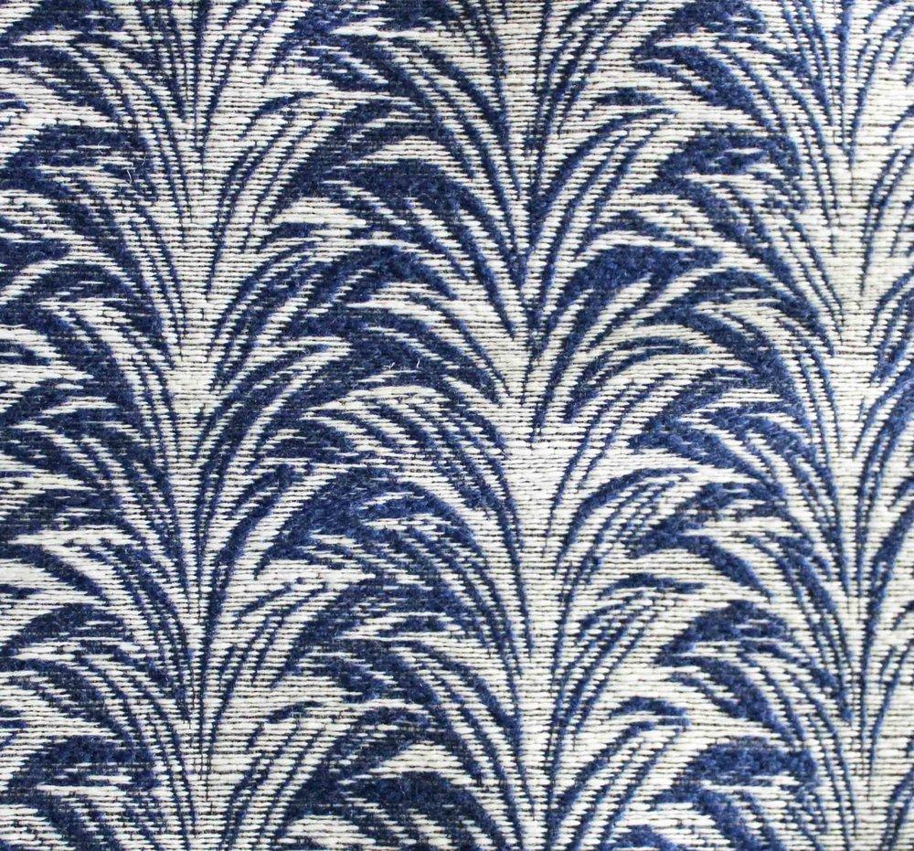 ZEBRA I ROYAL *Indoor/Outdoor Fabric
