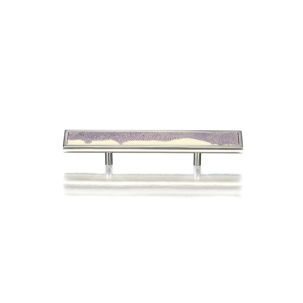 ELLIPSE FLAT FACE D PULL I STINGRAY   Polished Nickel