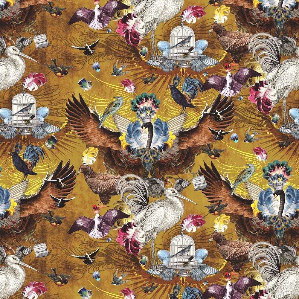 SANTORUS  Arrivee des Oiseaux I Citrine