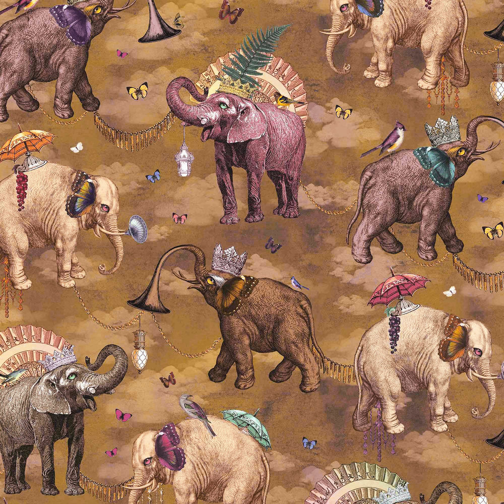 ELEPHANT'S MARCH I CORIANDER
