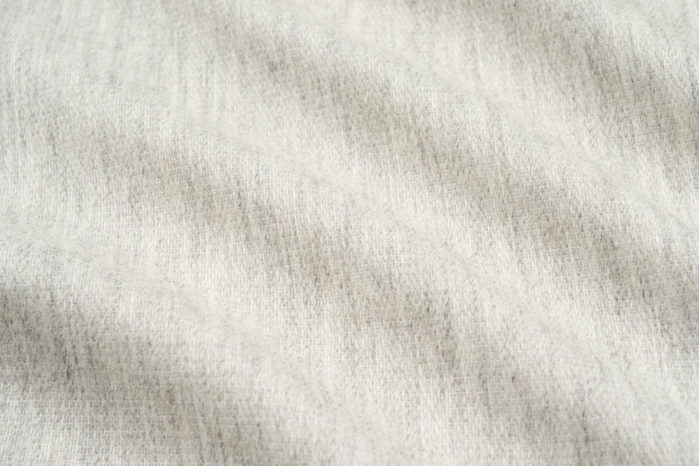 TEXTURED WOOL I SILVER