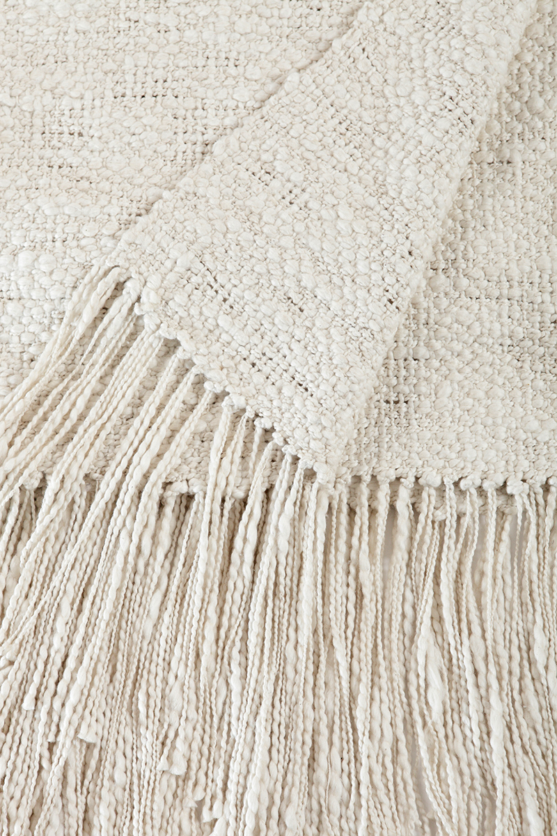 RUSTIC COTTON THROW