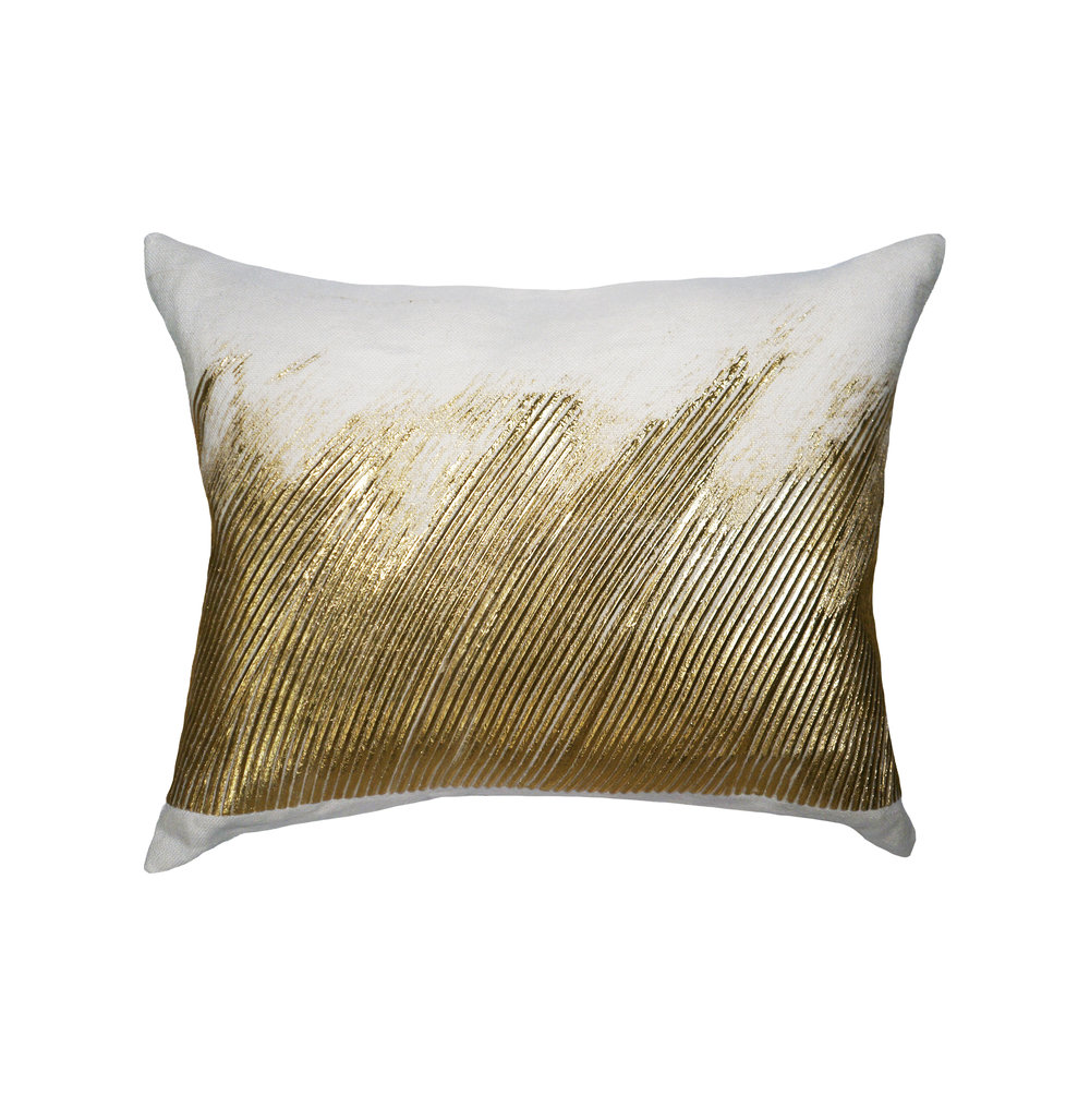 WAVE PILLOW I GOLD
