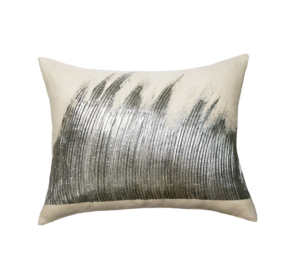 WAVE PILLOW I SILVER