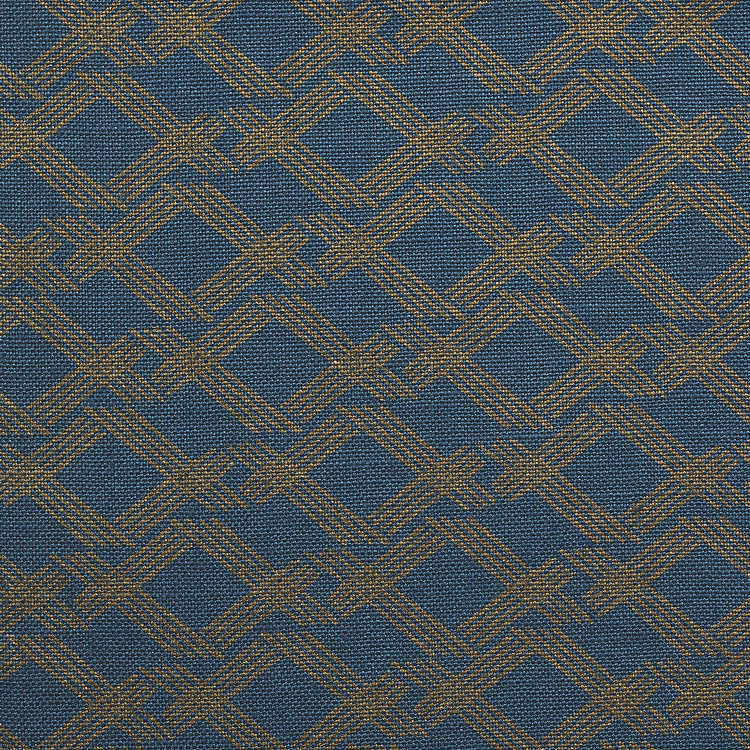 CROSSHATCH I TEAL BRONZE