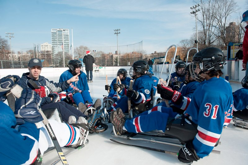 Sled Hockey in NYC