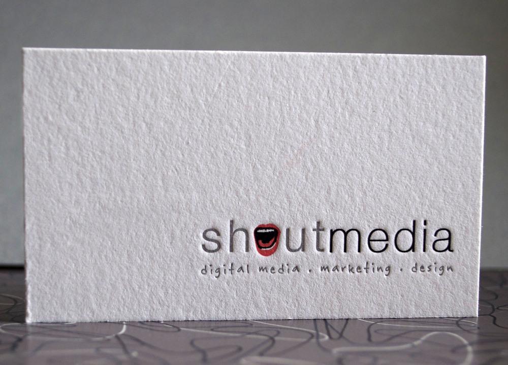 shout media card
