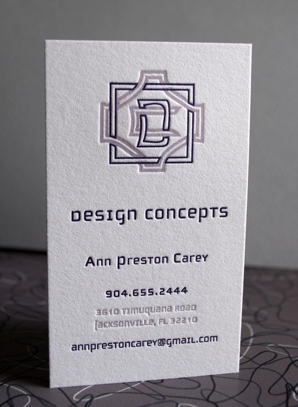 Ann's card