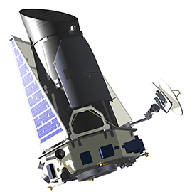 Figure 1: The Kepler Spacecraft. Credit: Ball Aerospace.