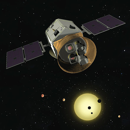 Figure 5: The TESS Telescope. Credit: TESS team.