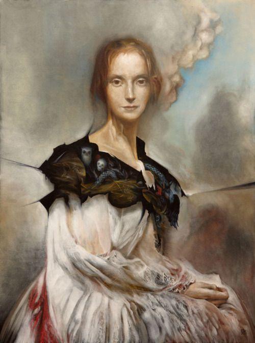 Mary Shelley by Esao Adams