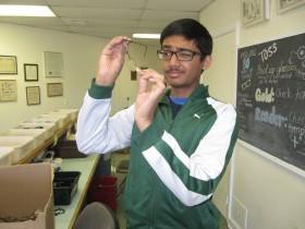 Abhiram Karuppur, Junior at The Pingry School, Basking Ridge, NJ