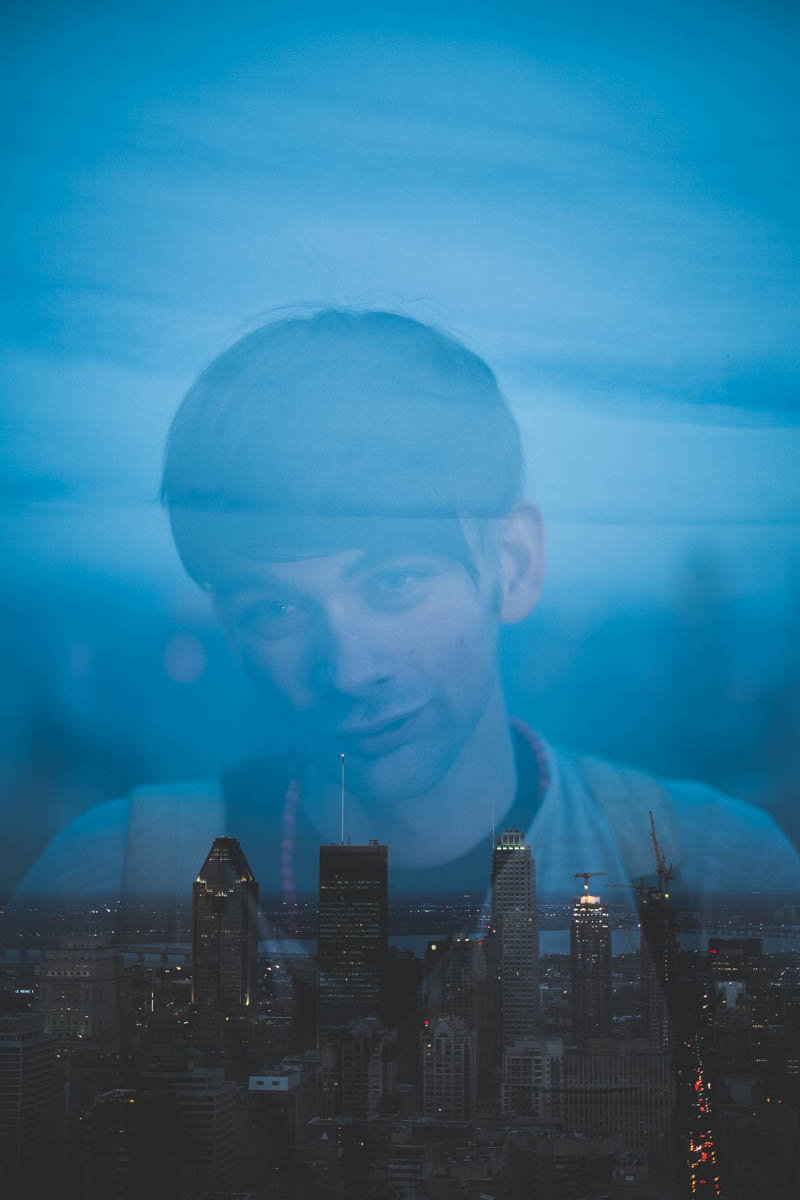 Double Exposure of Liam