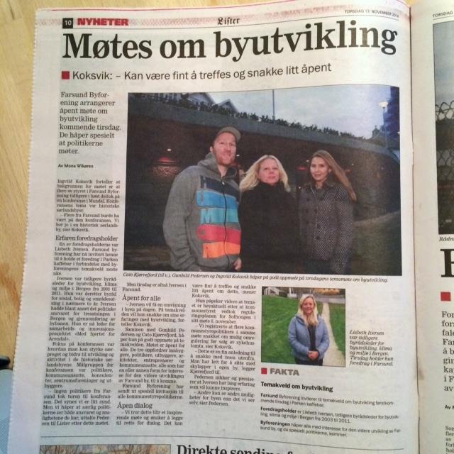 Byforeningen i Lister 13.11.2014