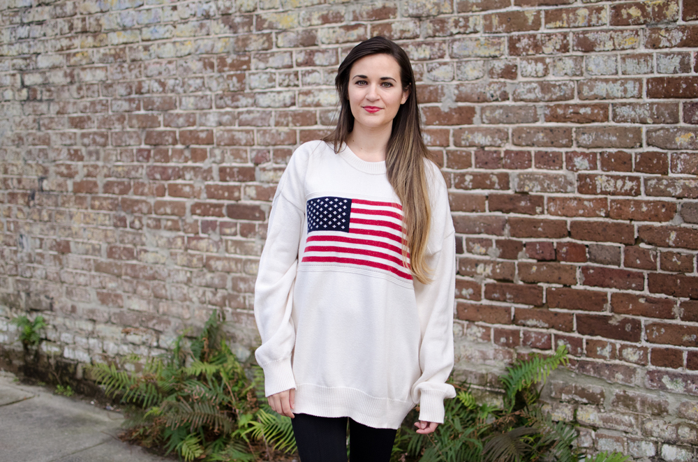 Natalie-Sustainably-Chic-Charleston-South-Carolina-American-Flag-Sweater-6.jpg