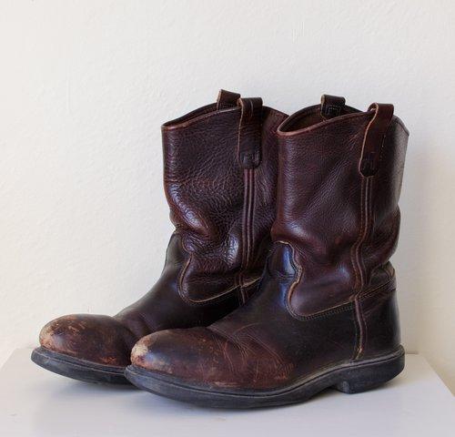 Red Wing Steel Toe Engineer Boots — MOTH ODDITIES