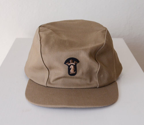 Vintage Military Cadet Cap with Emblem