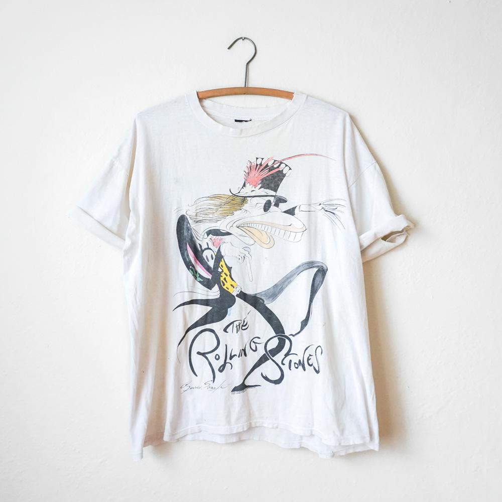 Rolling Stones Vintage Tee Shirts   Azərbaycan Dillər