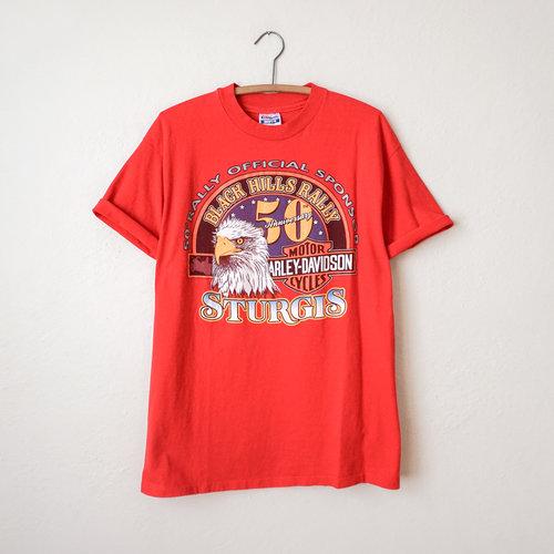 550f6ced1a vintage-1990s-red-harley-davidson-sturgis-black-hills-
