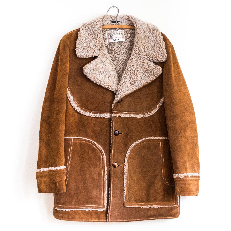 Fully Lined Rancher by Schott 1970/'s Suede Leather Jacket w Fringe Vintage Western Wear Women/'s Size 12 Coat
