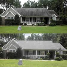 Our low pressure black MOLD streak and moss removal will restore the color of your roof and boost your curb appeal!