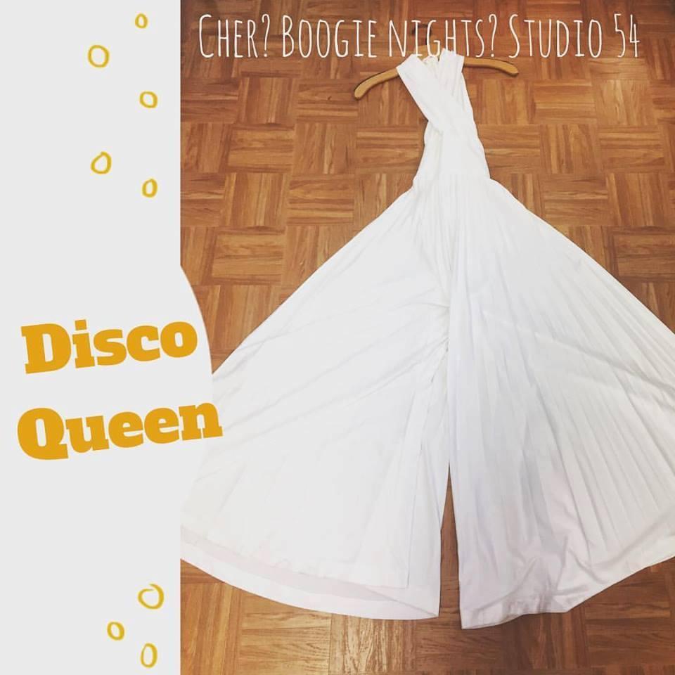 white disco outfit