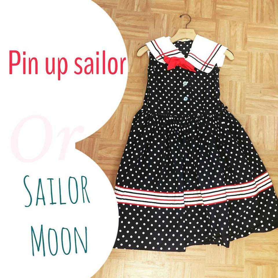sailor moon, pin up dress