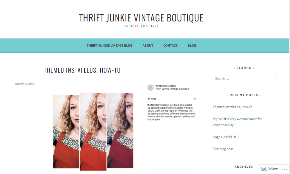 How to thrift junkie vintage