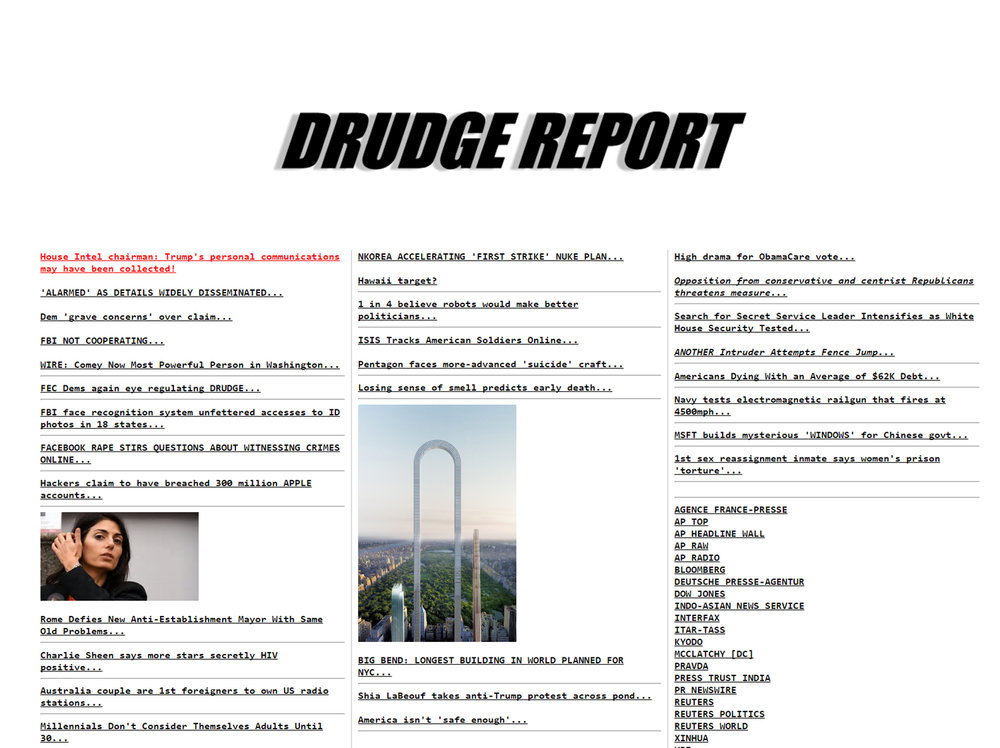 Drudge report_ Front page the big bend