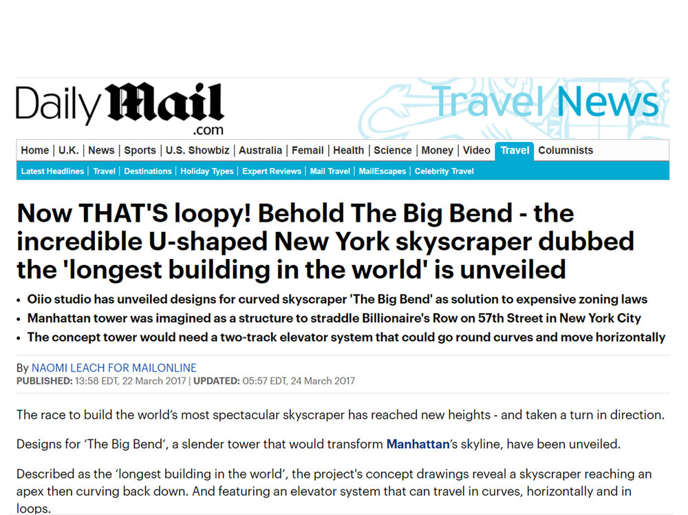 THE BIG BEND PUBLISHED ON DialyMail UK