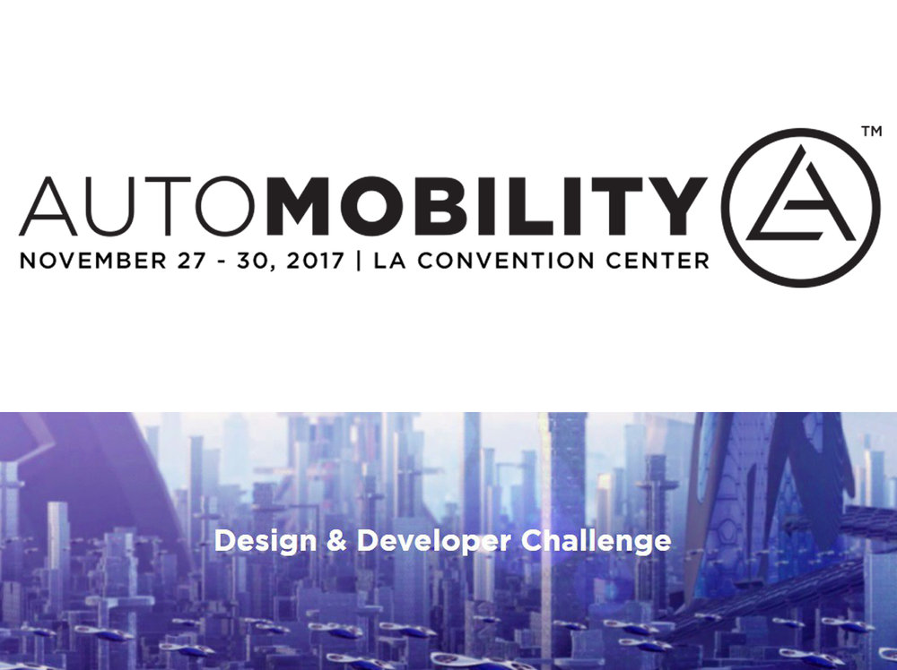 oiio studio was one of five finalists of the LA Auto Show's Automobility Designer/Developer Challenge and was invited to present the idea live at the Los Angeles Convention center Auto Show today at 4.30pm (PST).  Here are details on the Challenge.
