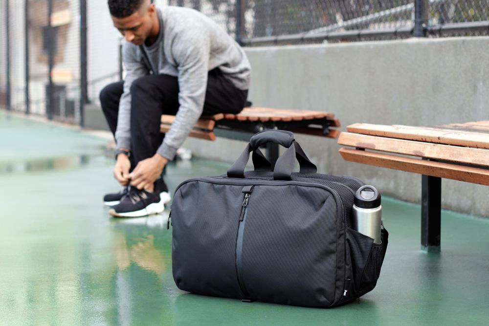 51be2dbc7fe Gym Duffel - Black — Aer   Modern gym bags, travel backpacks and ...