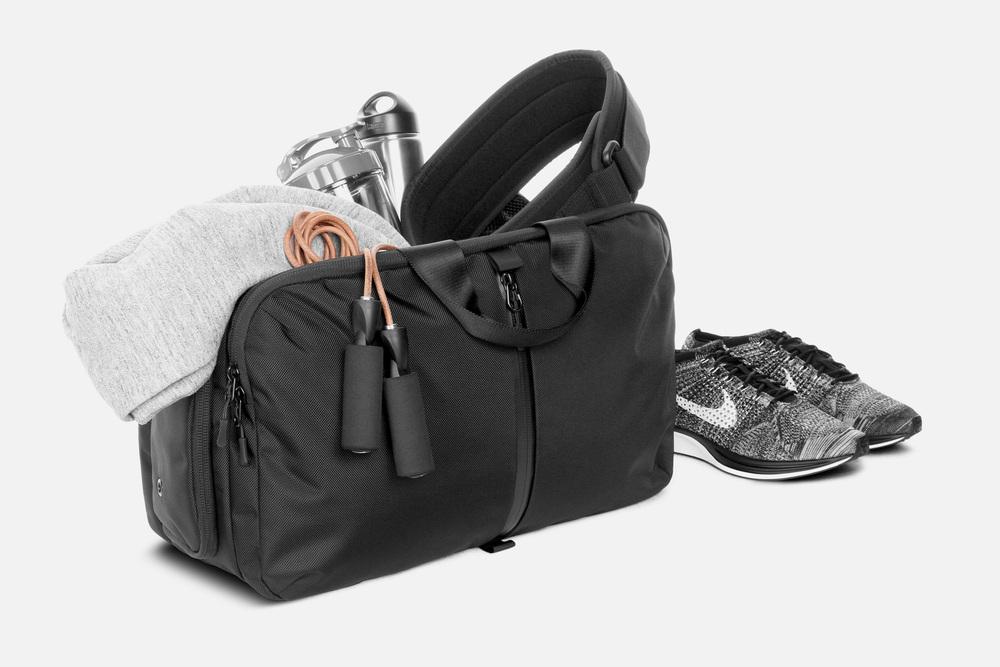 Gym Duffel Black Aer Modern Gym Bags Travel