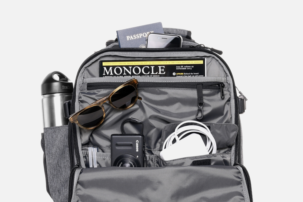 Smart Interior Pocket Organization Travel Backpack