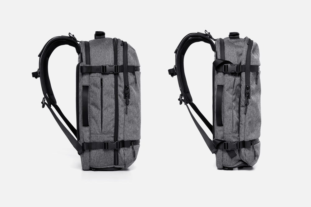 Side Compression Straps Travel Backpack