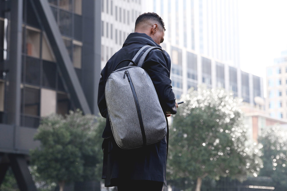 91333d0595c Fit Pack - Gray — Aer   Modern gym bags, travel backpacks and laptop ...