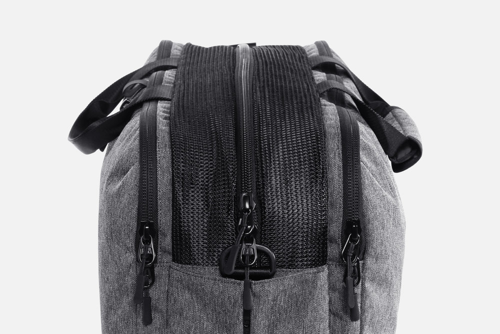 Aer Gym Duffel Mesh Pocket