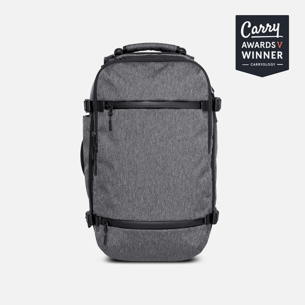 Aer Travel Pack Best Carry-on Travel Backpack Gray