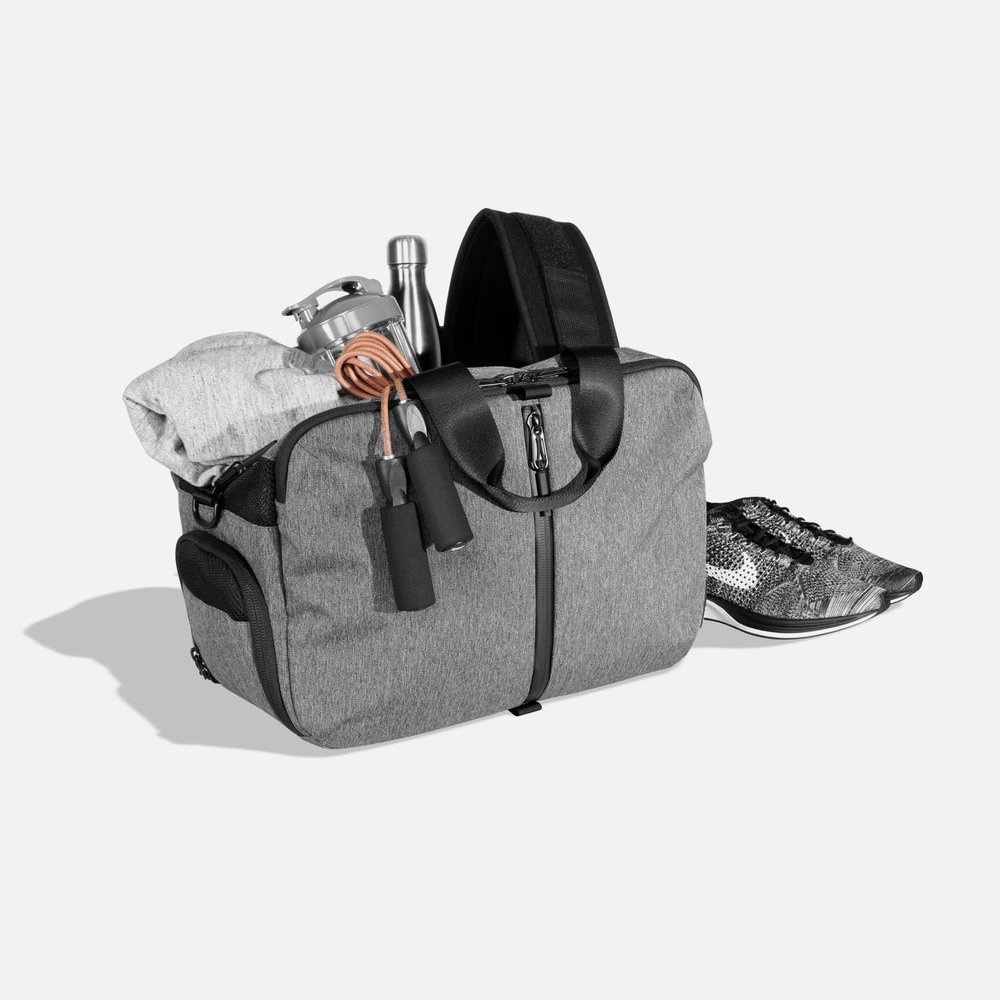 04f0ebf299a6 Redesigned from the ground up to store your gym work gear.
