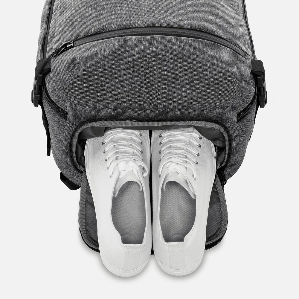 Separate Shoe Compartment Aer Travel Pack